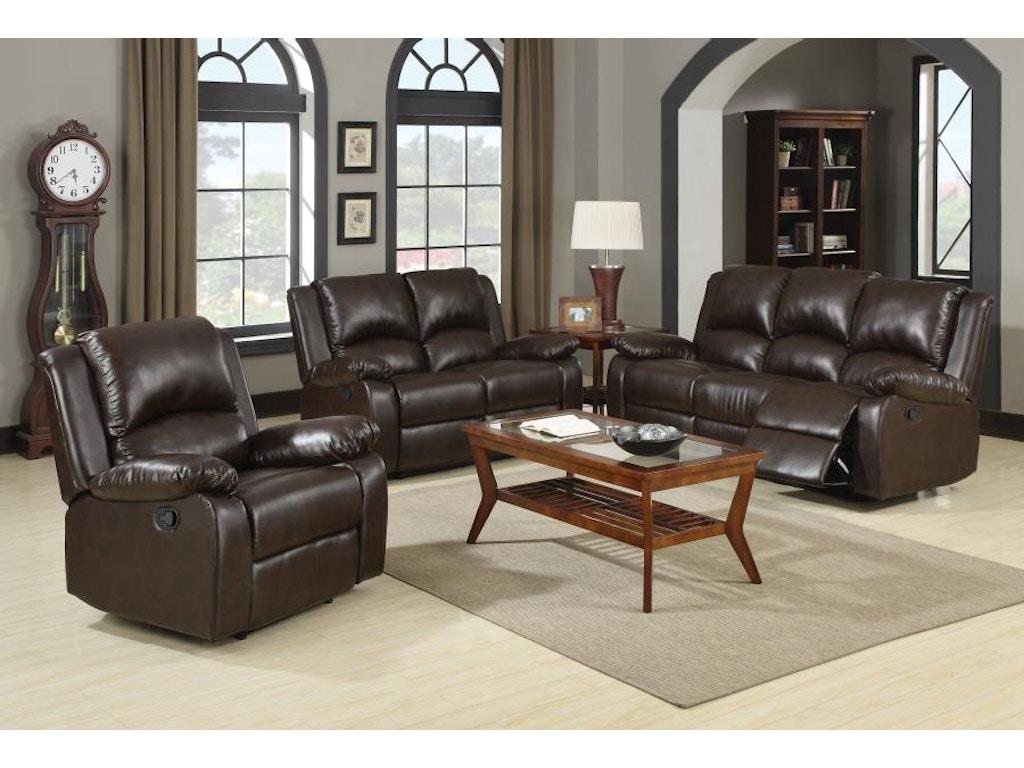 Coaster 3 Piece Living Room Set 600971 S3 Furniture