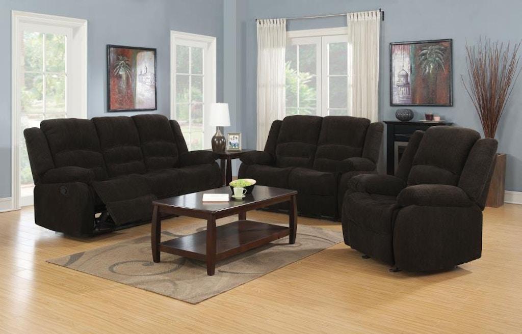 Coaster 3 Piece Living Room Set 601461-S3 - Nastasi\'s Fine ...