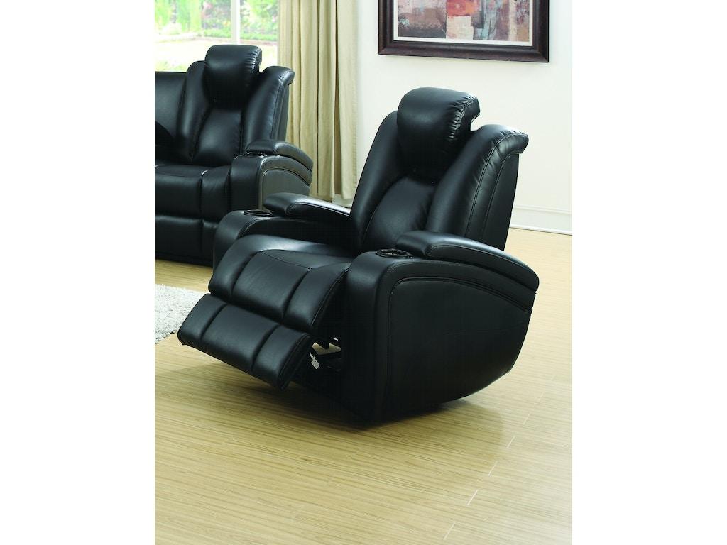 Coaster Living Room Power Recliner 601743p Emw Carpets Furniture Denver Co