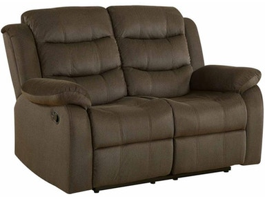 Coaster Living Room Motion Loveseat 601882 Furniture
