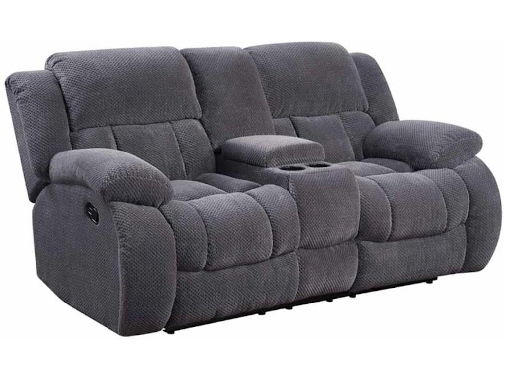 Coaster Weissman Grey Three-piece Living Room Set - Fulton ...
