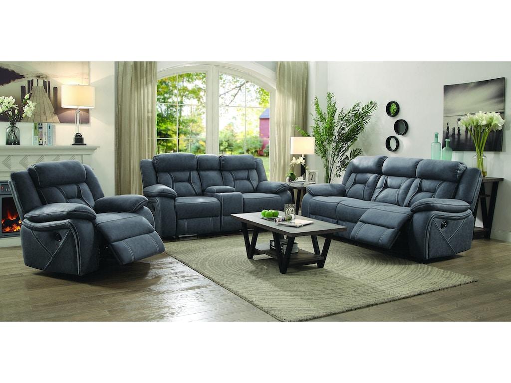 Coaster 3 Piece Living Room Set 602261 S3 Furniture