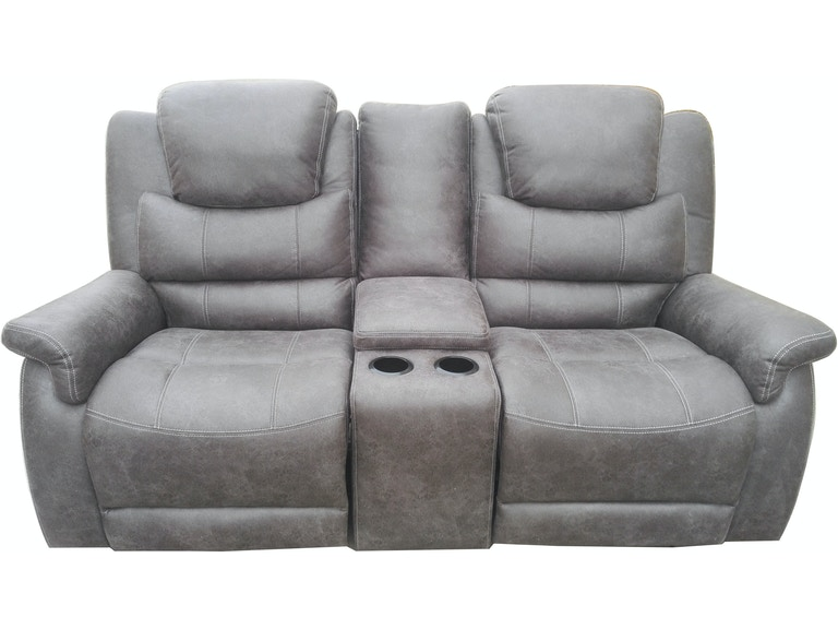 Coaster Living Room Glider Loveseat With Console 602452 Furniture Kingdom Gainesville Fl