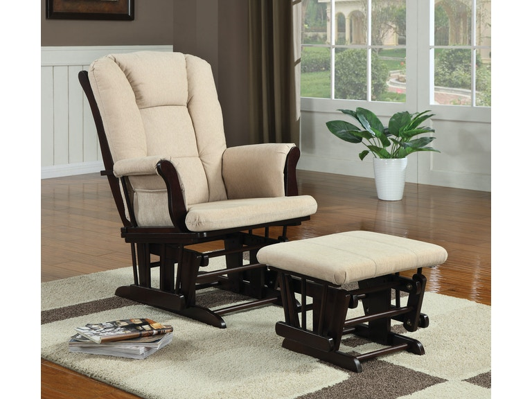 Coaster Living Room Glider 650011 - Turner Furniture ...