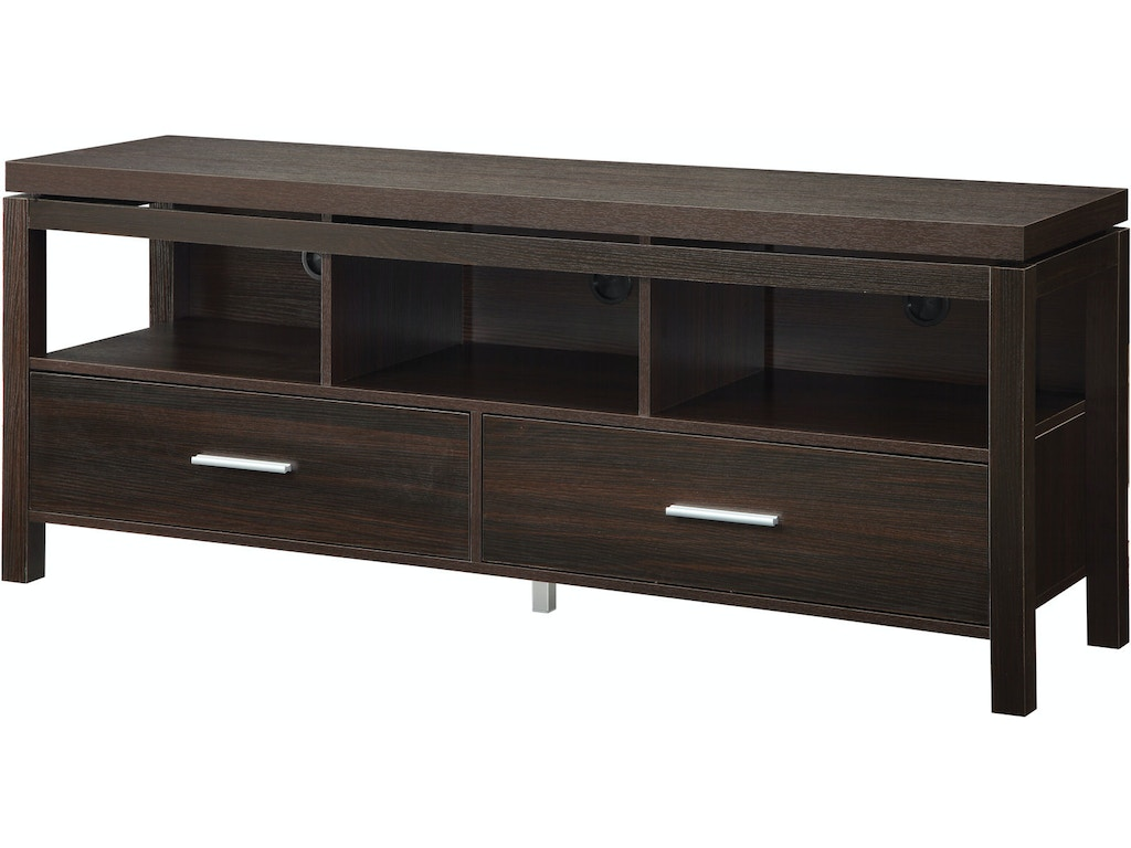 Coaster living room tv console 701971 furniture plus inc for Console living room