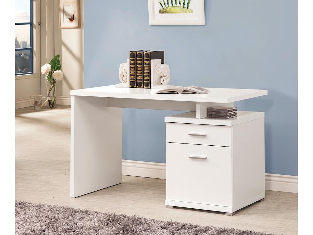 Coaster Home Office Office Desk 800110 Furniture Plus