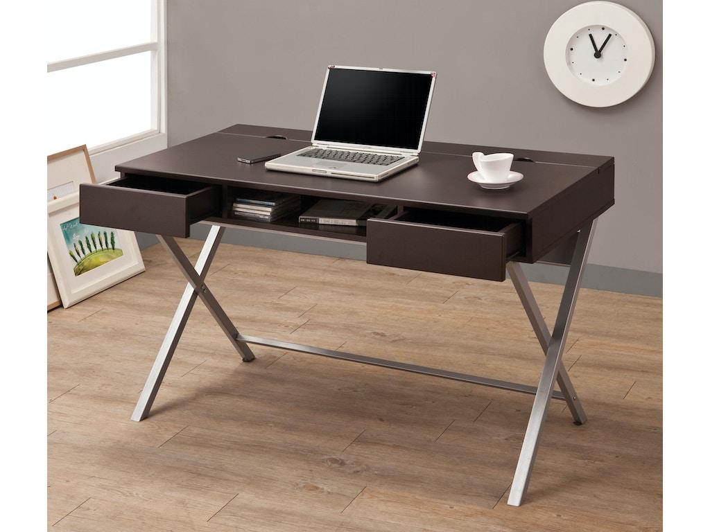 Coaster Home Office Computer Desk 800117 Charter Furniture Dallas Fort Worth Tx