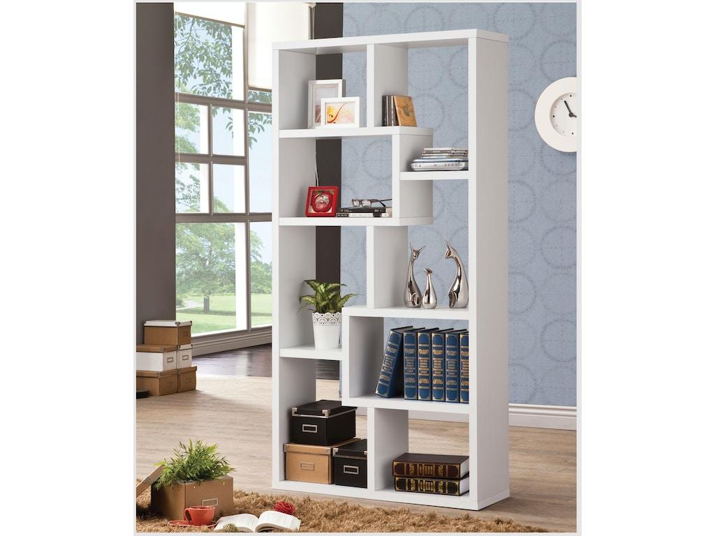 Coaster Home Office Bookcase 800136 Furniture Kingdom