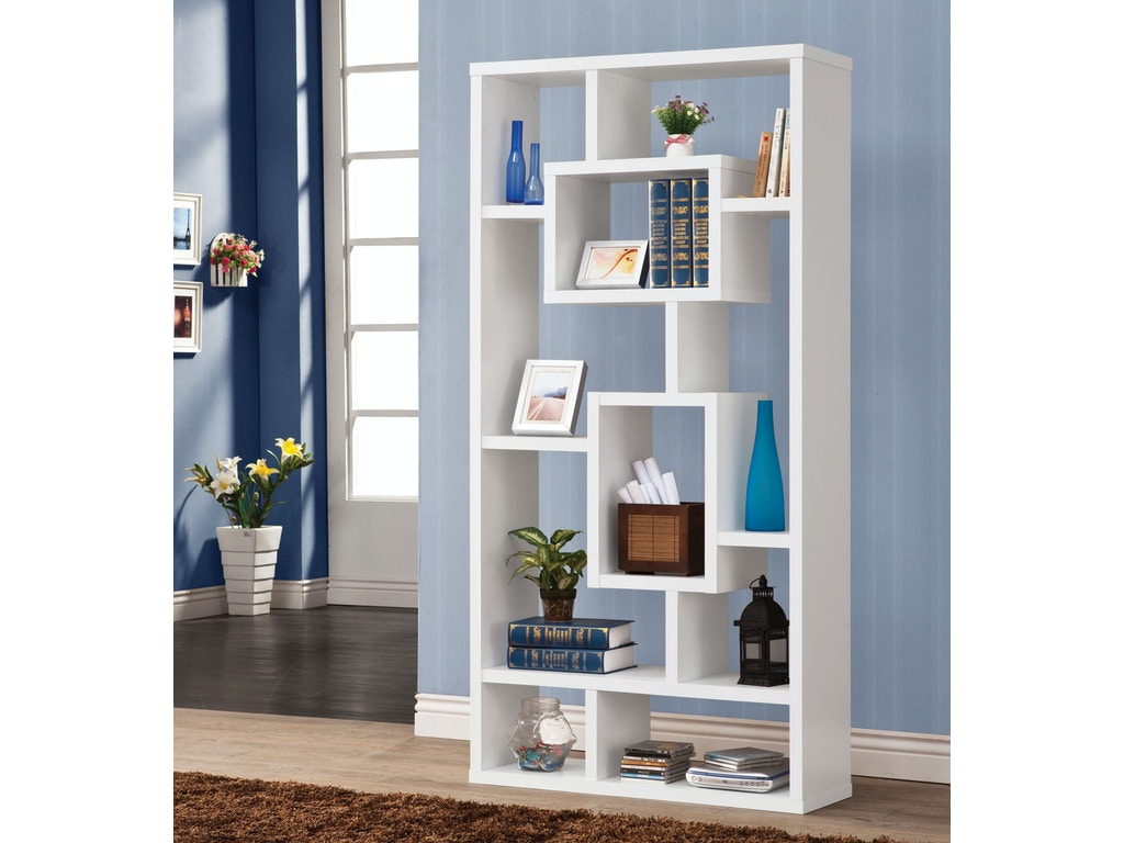 Coaster Home Office Bookcase 800157 Furniture Kingdom