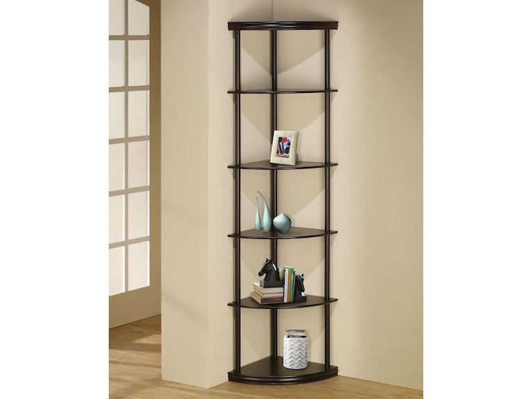 Coaster Corner Bookcase 800279