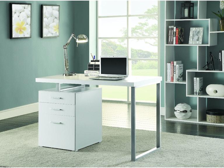 Coaster Home Office Office Desk 48 Grossman Furniture Enchanting Office Furniture Philadelphia Set
