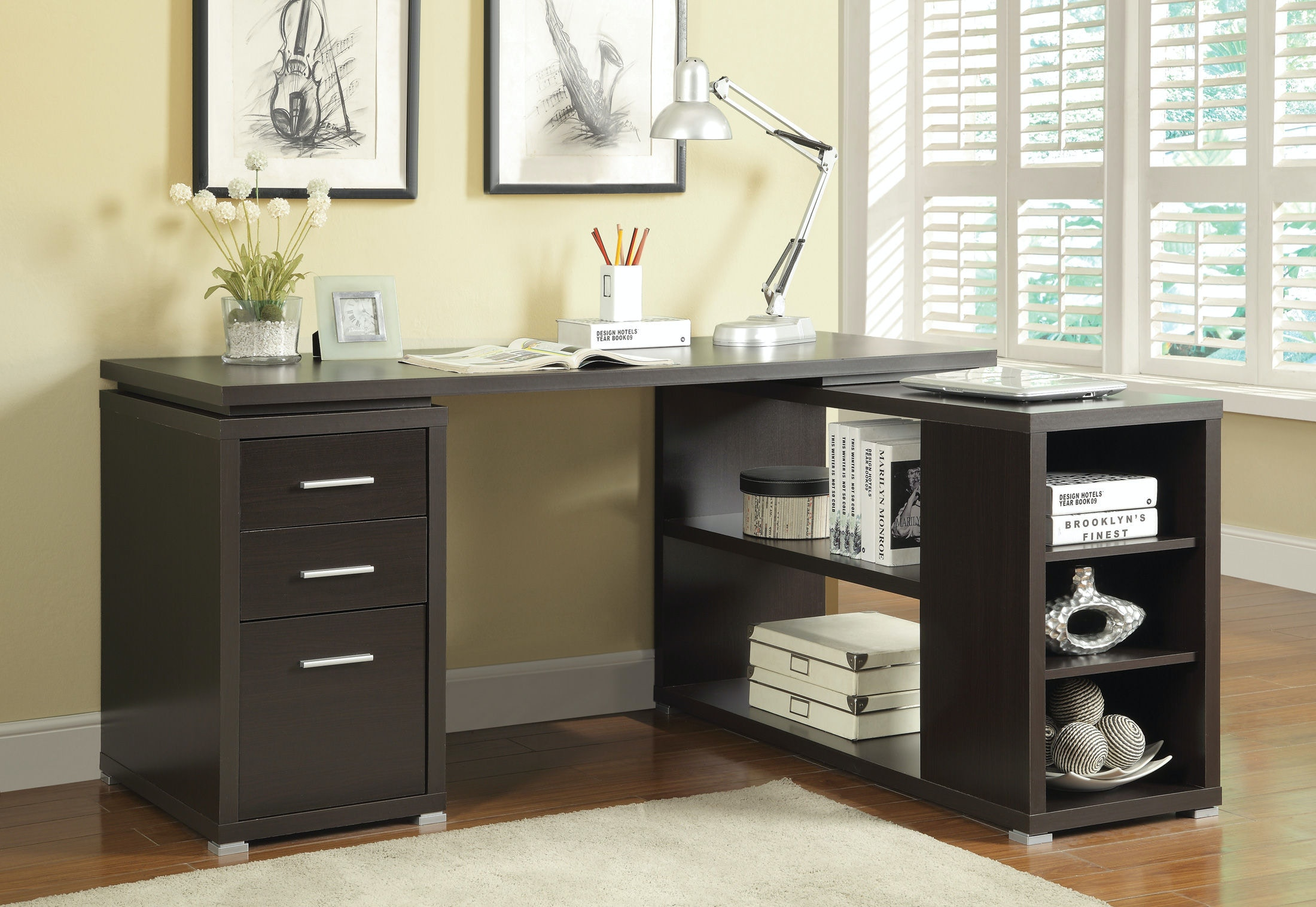Great Coaster Home Office Office Desk 800517   Turner Furniture Company   Avon  Park And Sebring, FL