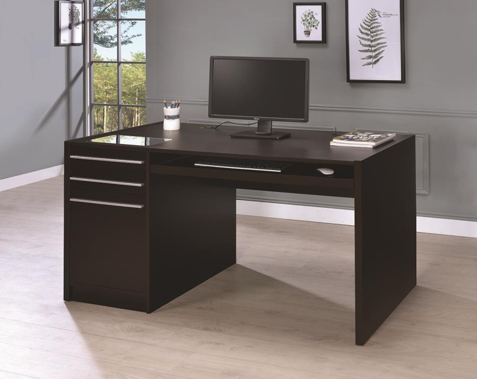 Coaster Home Office Connect-it Computer Desk 800982 - Simply Discount Furniture - Santa Clarita and