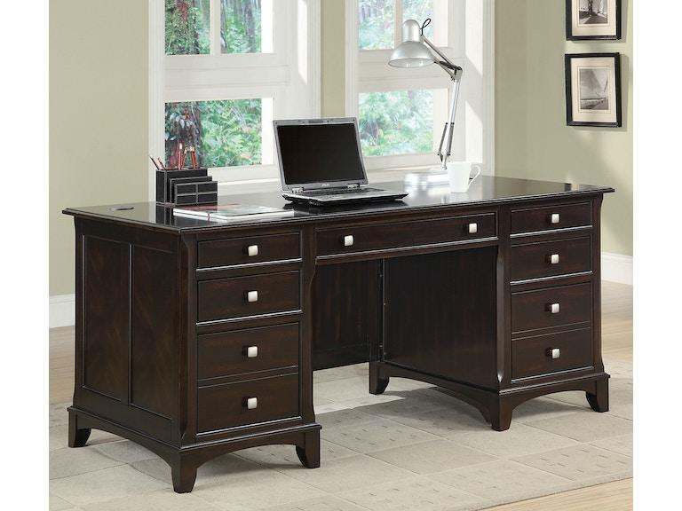 Riverside Home Office Executive Desk 44732: Coaster Home Office Executive Desk 801012