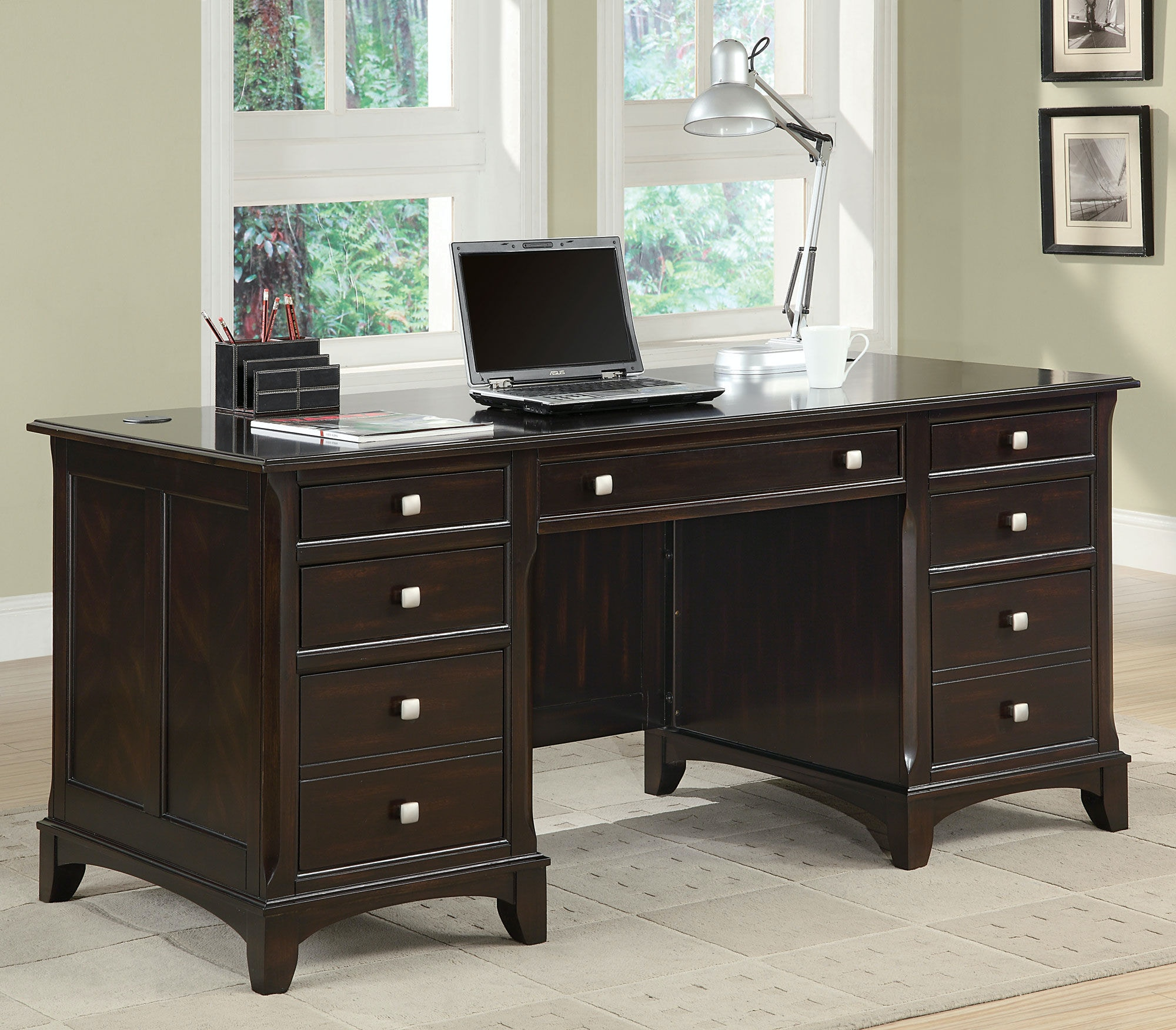 Coaster Home Office Desk 801012   Simply Discount Furniture   Santa Clarita  And Valencia, CA