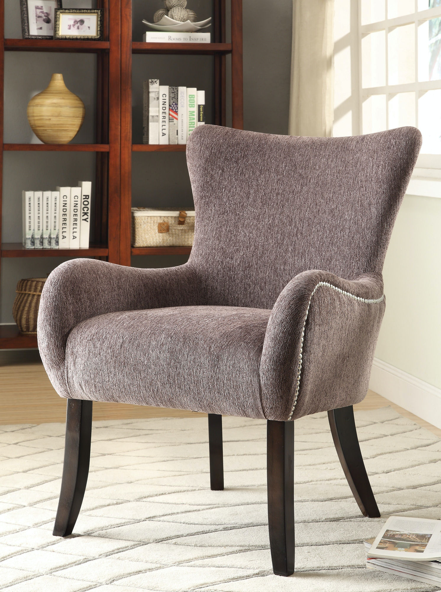 chairs for living room cheap coaster living room accent chair 902504 simply 18009