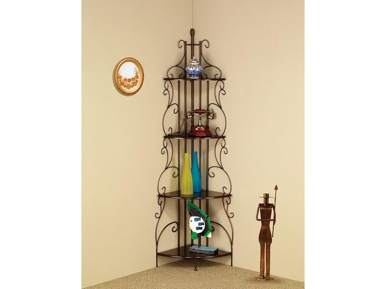 Coaster Corner Bookcase 910038