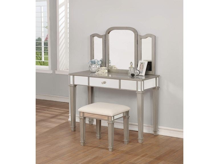 Coaster Bedroom Vanity Set 930131 - Fiore Furniture Company ...