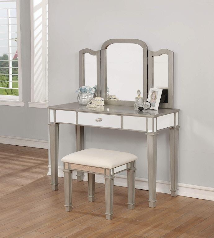 Coaster Bedroom Vanity Set 930131 - Furniture Marketplace ...