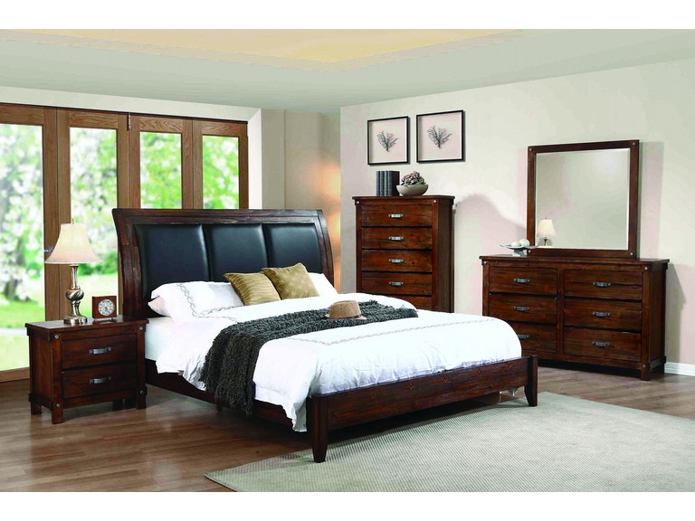 Coaster Bedroom Queen Bed B219-30 - China Towne Furniture - Solvay ...
