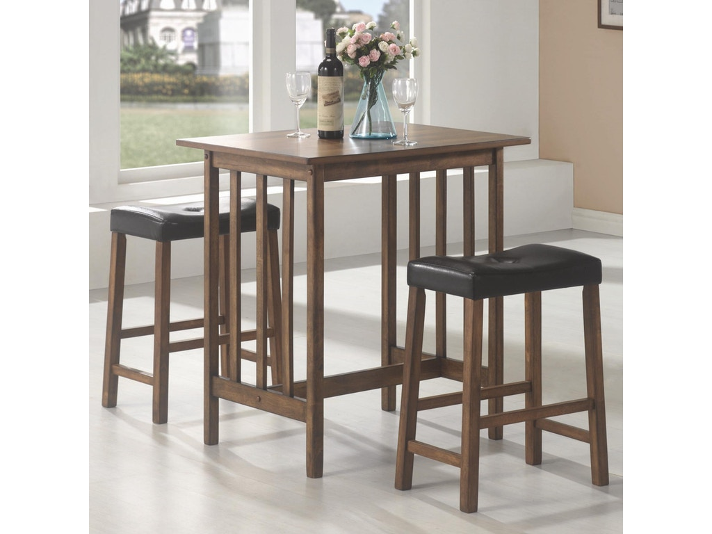 Coaster Bar And Game Room 3 Pc Set 130004