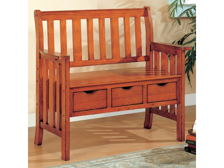 Coaster Living Room Bench 300075 Isaak S Home Furnishings And Sleep Center Yakima Wa