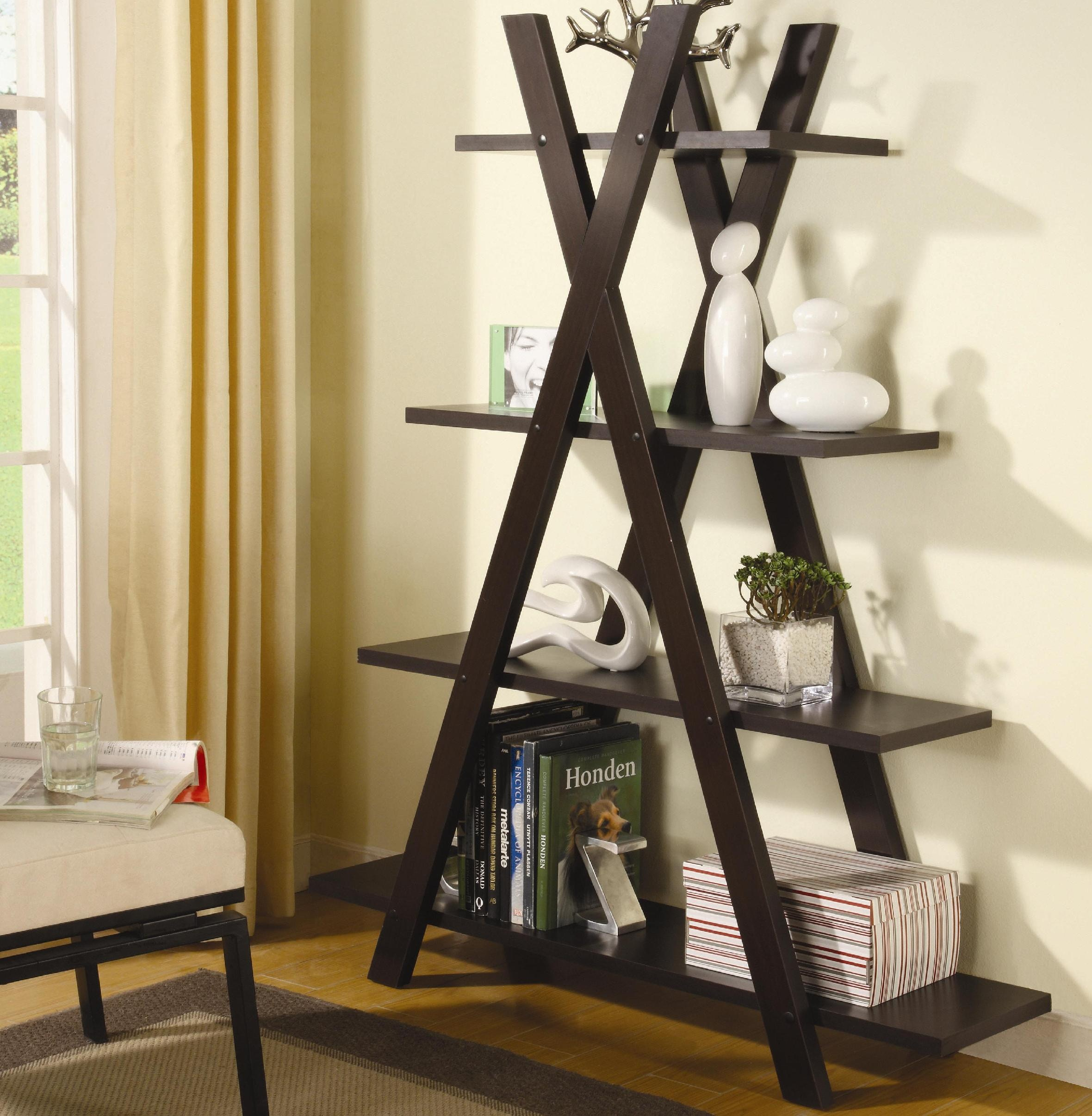 Coaster Home Office Bookcase 800267 Evans Furniture