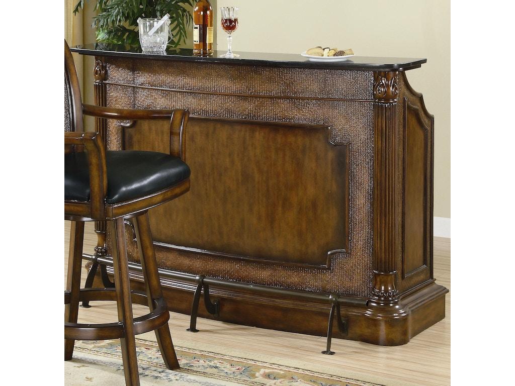 coaster bar and game room bar unit 100173 fiore furniture company altoona pa. Black Bedroom Furniture Sets. Home Design Ideas