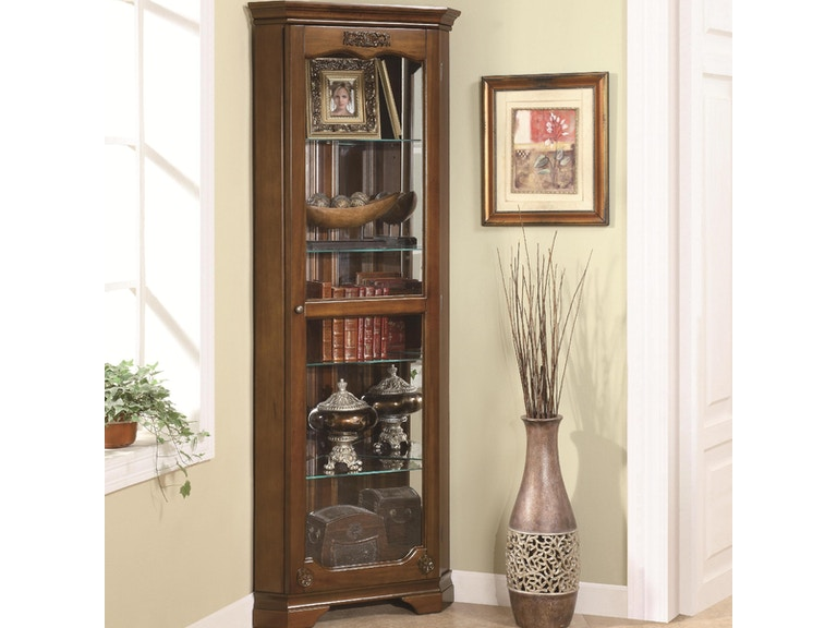 Coaster Living Room Curio Cabinet 950195 The Furniture Mall