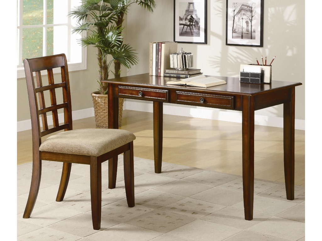coaster home office 2pc writing desk set 800778 fiore furniture company altoona pa. Black Bedroom Furniture Sets. Home Design Ideas