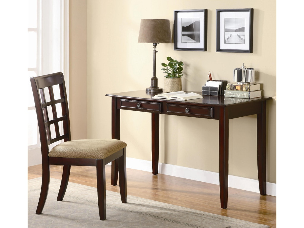coaster home office desk set 800780 fiore furniture company altoona pa. Black Bedroom Furniture Sets. Home Design Ideas