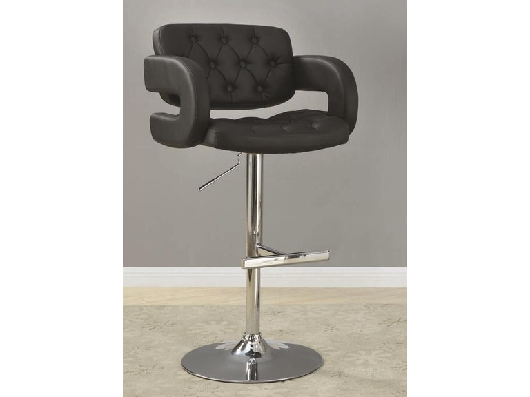 Miraculous Coaster Bar And Game Room Adjustable Bar Stool 102555 Ncnpc Chair Design For Home Ncnpcorg