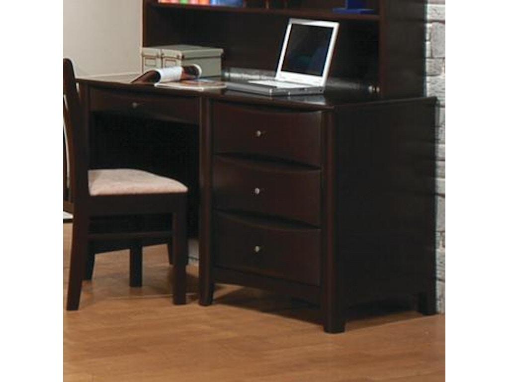 Coaster Home Office Desk 400187 Furniture Kingdom Gainesville Fl