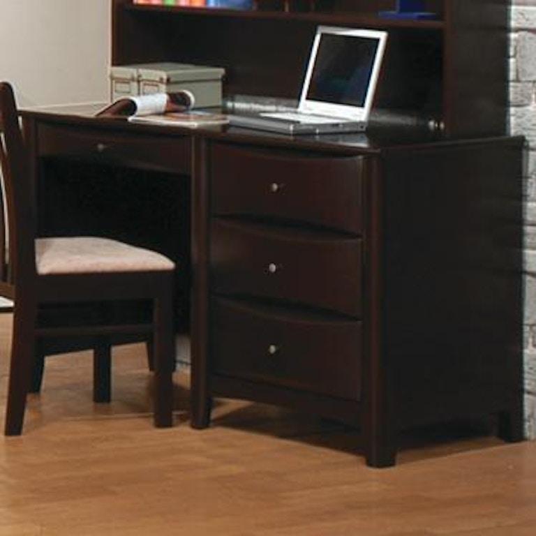 coaster home office desk 400187 fiore furniture company altoona pa. Black Bedroom Furniture Sets. Home Design Ideas