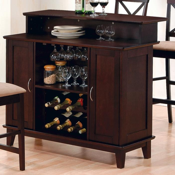 Coaster Bar And Game Room Bar Unit 100218 The Furniture