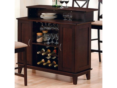 Coaster Bar Unit 100218