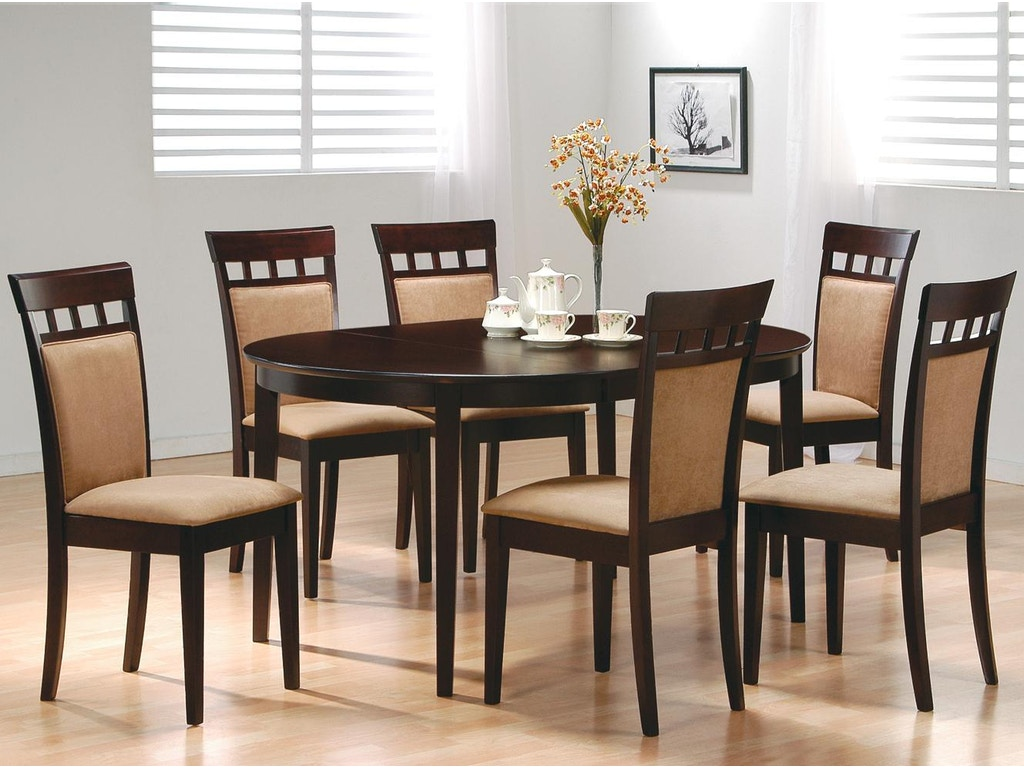 coaster dining room dining table 100770 fiore furniture company altoona pa. Black Bedroom Furniture Sets. Home Design Ideas