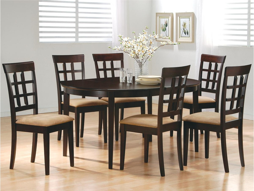 Coaster dining room chair trade mart