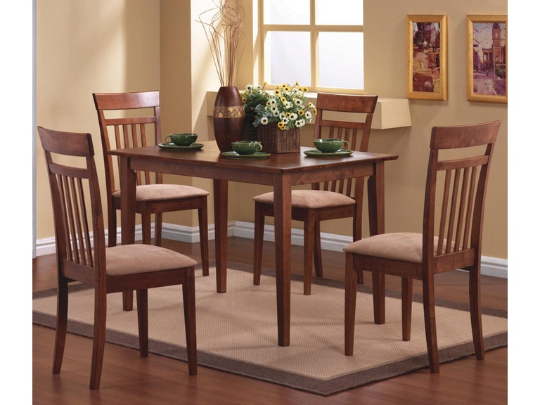 Coaster Dining Room 5 Piece Set 150430 The Furniture Mall Duluth