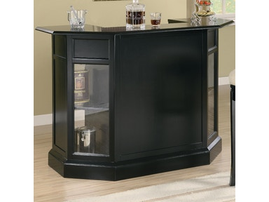 Coaster Bar Unit 100175