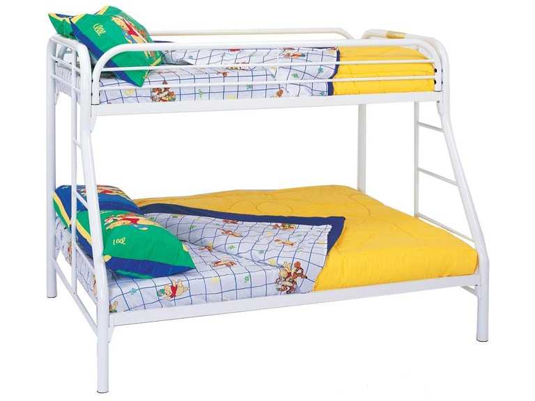 Coaster Youth Twin Over Full Bunk Bed 2258w Kensington Furniture