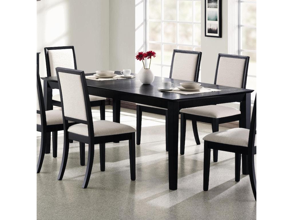 Swell Coaster 5 Piece Dining Room Set 101561 S5 Nastasis Fine Download Free Architecture Designs Xoliawazosbritishbridgeorg