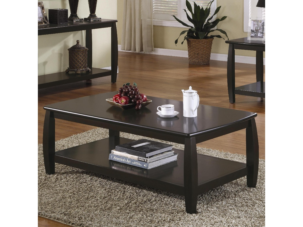 Coaster living room coffee table 701078 simply discount coaster coffee table 701078 geotapseo Image collections