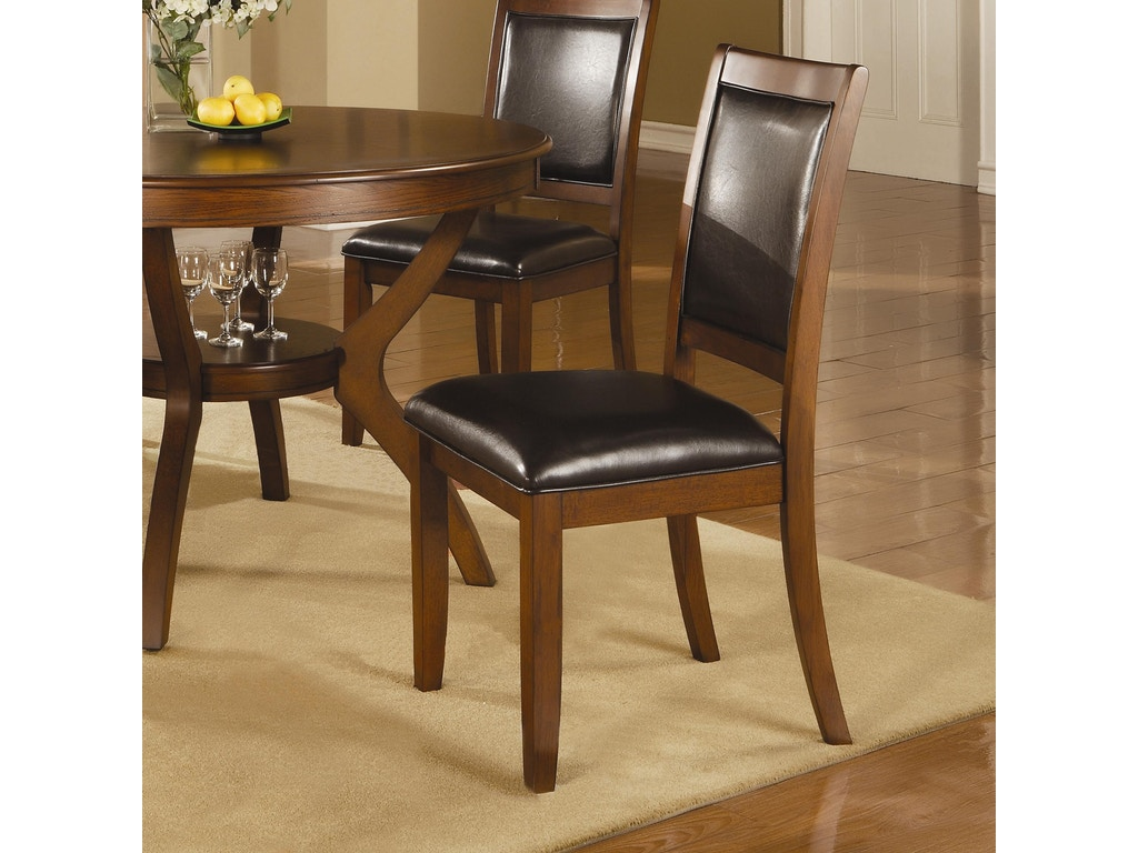 Coaster dining room chair hickory