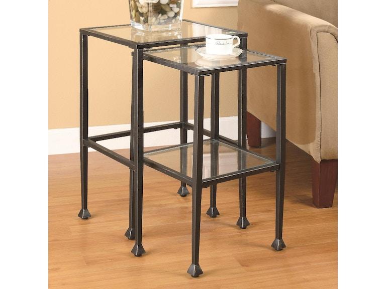 Coaster Living Room Nesting Table 901073 - Evans Furniture Galleries ...
