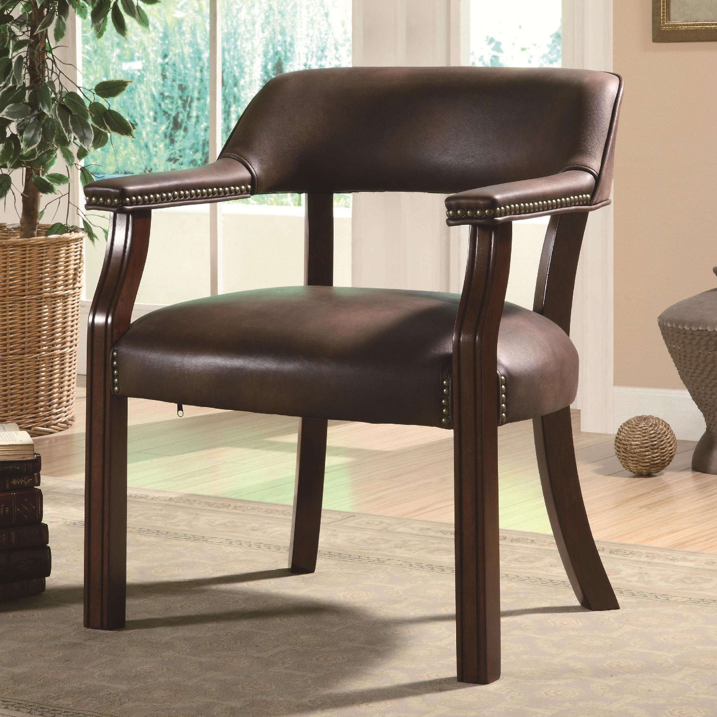 Coaster Home Office Guest Chair 513BRN