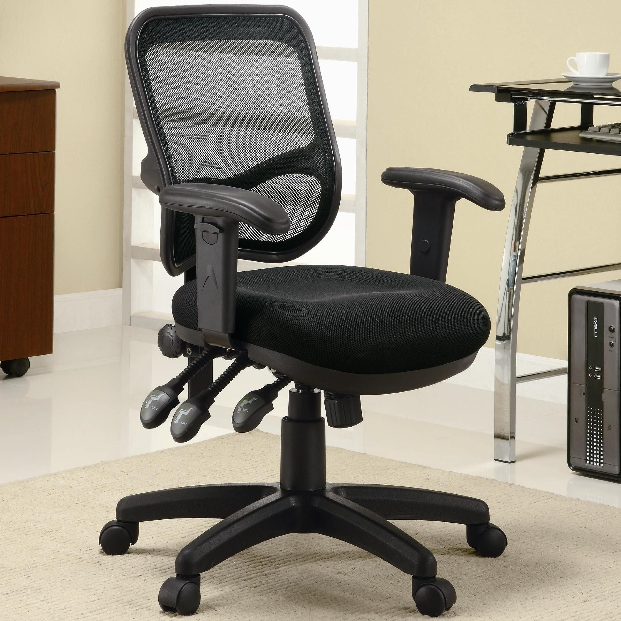 Coaster Home Office Office Chair 800019   The Furniture Mall   Duluth,  Doraville, Kennesaw And The Chamblee, GA