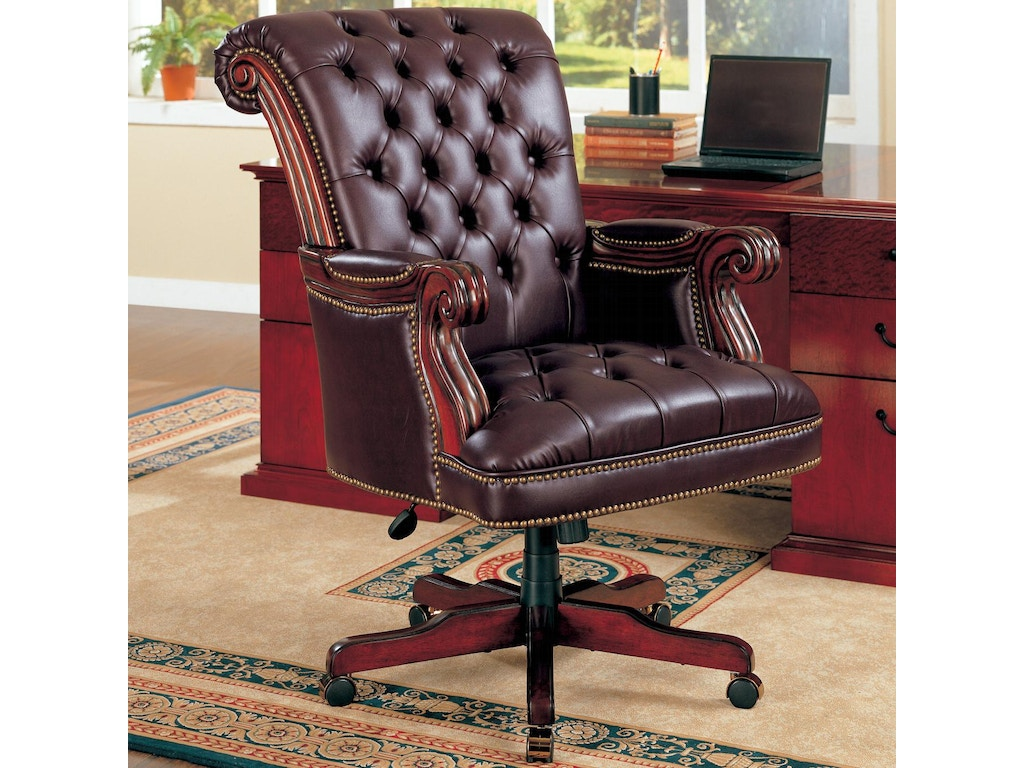 Coaster Home Office Office Chair 800142 Hickory