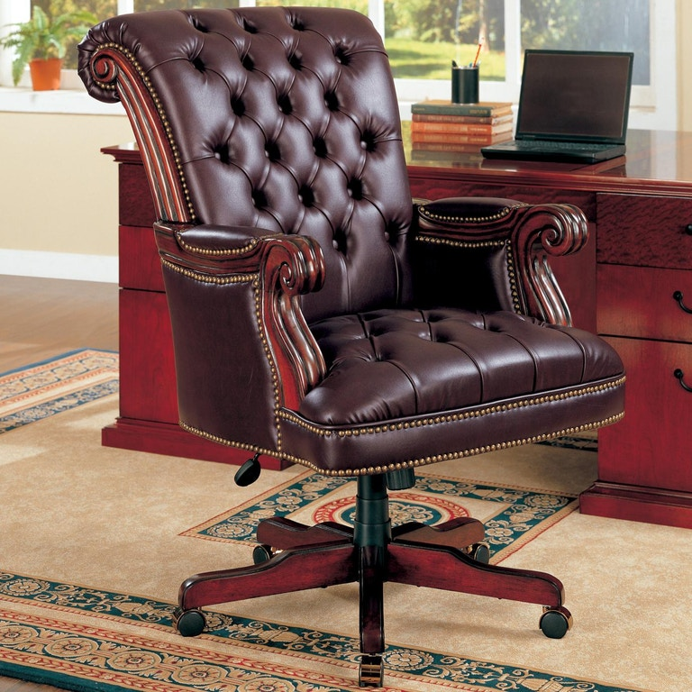 Coaster Home Office Office Chair 800142 Furniture Kingdom Gainesville Fl