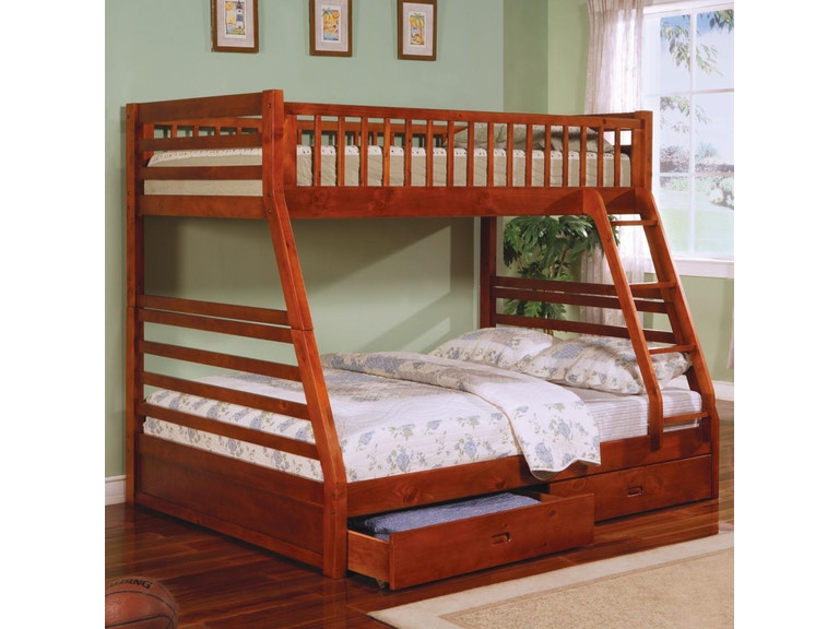 Coaster Youth Bunk Bed 460183 Hickory Furniture Mart Hickory Nc